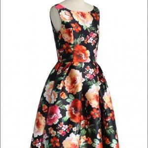 Chicwish Exotic Amorous Floral Prom Dress